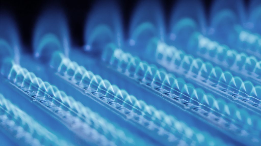 Heizungsanlage in Form von Gasheizung